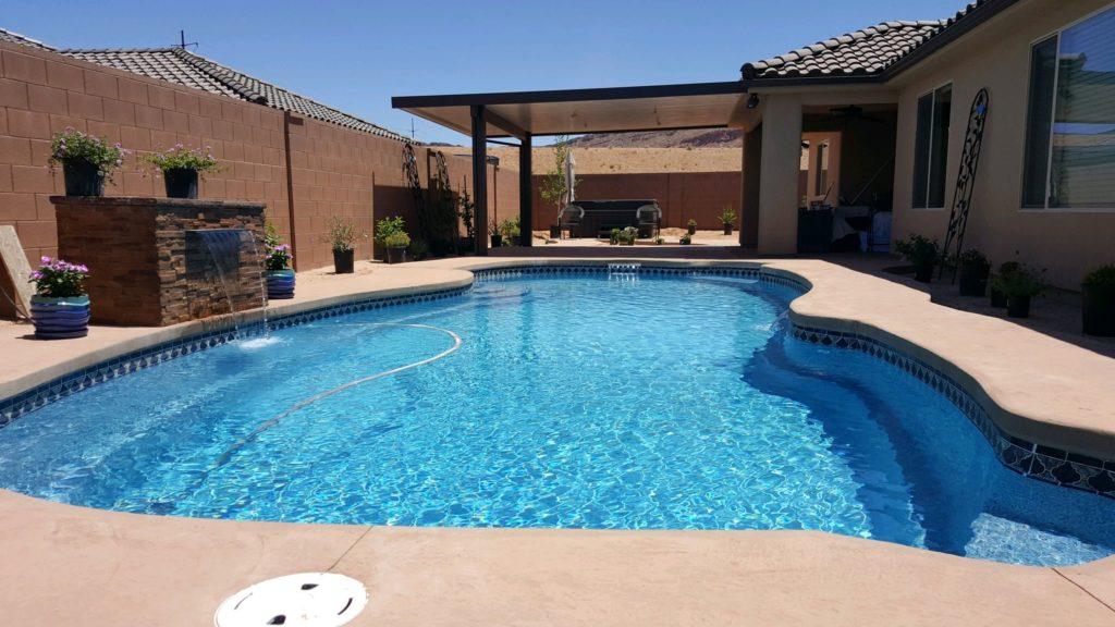 Paradise Design Pool And Spa Inground Pools St George Ut